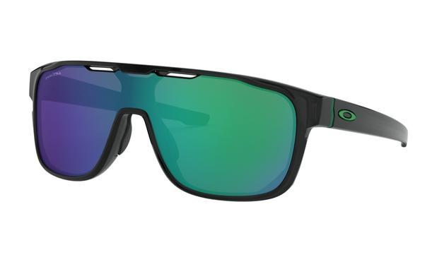 41ded392a9661 Óculos de Sol Oakley Crossrange Shield Black Ink Prizm Jade - Óculos ...