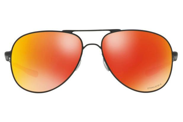 dff64511558e1 Óculos de Sol Oakley Elmont 0OO4119 13 60 Preto Lente Laranja Espelhado