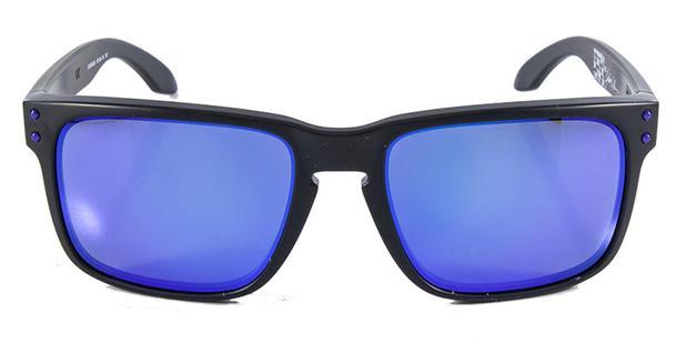 4b8f195f1b Óculos de Sol Oakley Holbrook Matte Black (Julian Wilson) OO9102 Preto Lente  Iridium