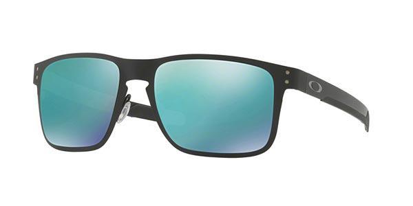 1089490ac1260 Imagem de Óculos de Sol Oakley Holbrook Metal OO4123 Preto Lente Jade  Iridium