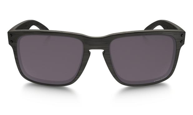 30484b2eb29f3 Óculos de Sol Oakley Holbrook OO9102 Preto Madeirado Lente Polarizada