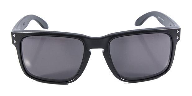 12bb336db Óculos de Sol Oakley Holbrook OO9102 Preto - Óculos de Sol Masculino ...