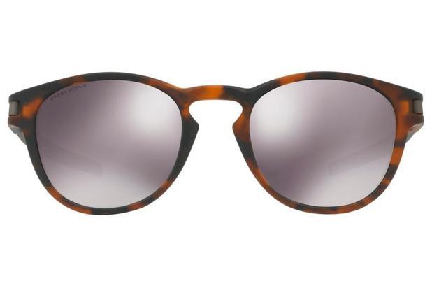 9a7173ab23 Óculos de Sol Oakley Latch 0OO9265 22/53 Tartaruga Marrom Fosco Lente Preto