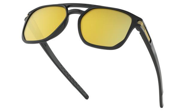 a6277fed53 Óculos de Sol Oakley Latch Beta Black Prizm 24k Polarizada - Óculos ...
