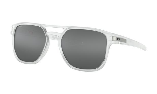 5f6c345cfdf23 Óculos de Sol Oakley Latch Beta Matte Clear Prizm Black - Óculos de ...