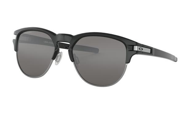 4369cef7db6c6 Óculos de sol Oakley Latch Key Polished Black Iridium Polarizado ...