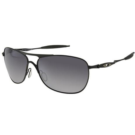 5b5993636 ... Óculos de Sol Oakley Lente Espelhada CrossHair Matte Black Metal Preto  - Oakley ...