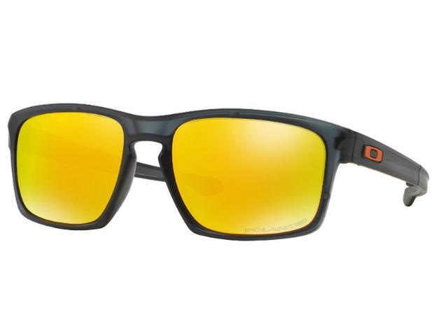 8af2773d3c55e Óculos De Sol Oakley SLIVER Dobra Haste Polarizado OO9246 06 Tam.57 - Oakley  original