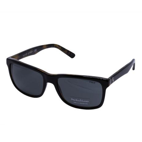 Óculos de Sol Polo Ralph Lauren Top Black on Jerry Tortoise PH4098 526087 -  acetato preto tartaruga, d8fe3c491e