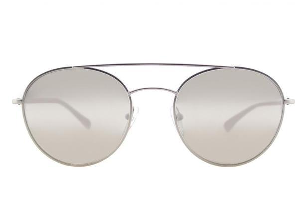 1f1489c15210a Óculos de Sol Prada Linea Rossa PS 51SS 1AP2B0 54 Prata Fosco - Óculos de  sol masculino - Magazine Luiza