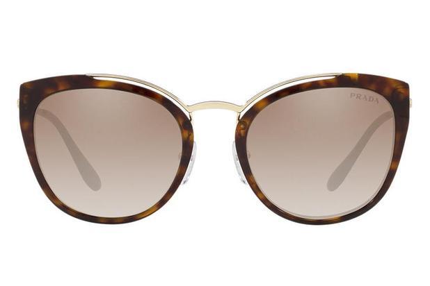 d3dba059d24e2 Óculos de Sol Prada PR 20US 2AU-4PO 54 Tartaruga Dourado - Óculos de ...