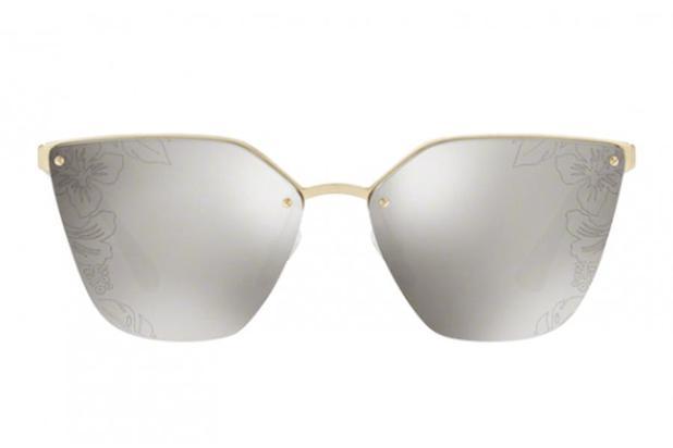 c5302cdee Óculos de Sol Prada PR 68TS ZVN121/63 Dourado - Óculos Feminino ...