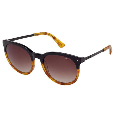 d70535313 Óculos De Sol Preto E Caramelo Demi Brilho Lente Degradê C0013 Colcci