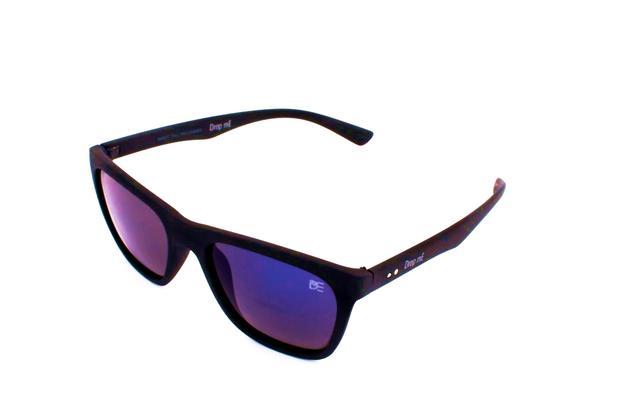 31969b834 Óculos de Sol Quadrado Drop mE Vibe Espelhado Azul - Drop me acessorios