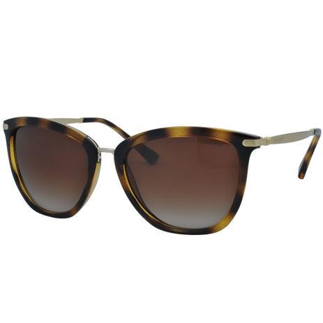 e75806d8d Óculos de Sol Ralph Feminino RA5245 500313 - Acetato Tartaruga Marrom,  Metal Dourado e Lente Marrom - Ralph lauren