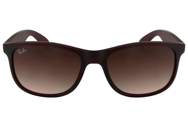 fcfe01c9b Óculos de Sol Ray Ban Andy RB4202 607313/55 Marrom Fosco - Óculos de ...