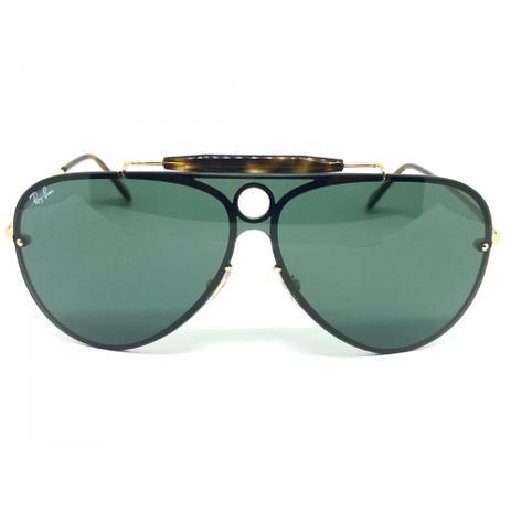 17a2bb7fcd240 Oculos de sol Ray Ban Aviador Blaze Shooter RB 3581N 001 71 32 ...
