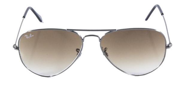 40fcea9e1201a Óculos de Sol Ray Ban Aviador Clássico RB3025 Grafite Lente Marrom - Ray-ban