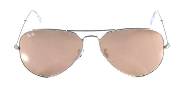 Óculos de Sol Ray Ban Aviador Clássico RB3025 Prata Fosco - Ray-ban ... e43abde638