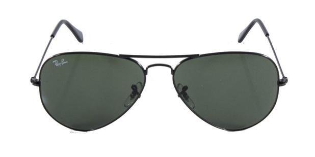 Óculos de Sol Ray Ban Aviador Clássico RB3025 Preto Lente G15 - Ray ... 052994cd27