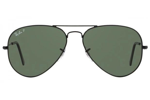 0b07c19fb Óculos de Sol Ray Ban Aviador Large Metal RB3025L 002/58/62 Preto ...