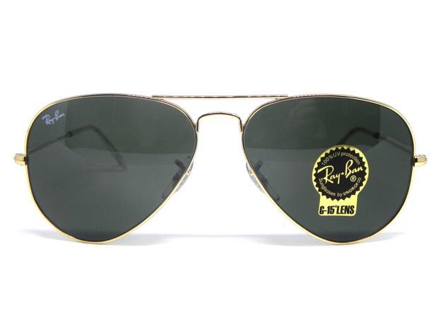 Oculos de sol Ray Ban Aviador médio RB 3025L L0205 58 - Óculos de ... c8acfcc85dddf