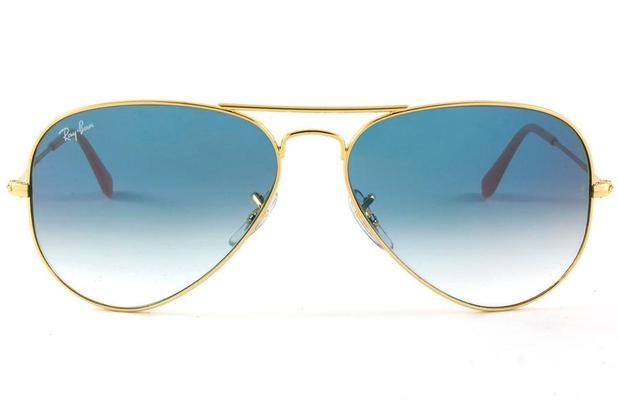 5b101434f Menor preço em Óculos de Sol Ray Ban Aviador Metal RB3025L 001/3F/58