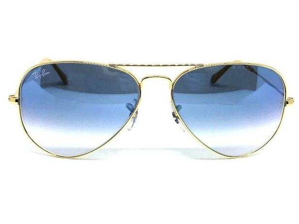 3750b1dfeba11 Oculos de sol Ray Ban Aviador pequeno RB 3025 001 3F 55 - Óculos de ...