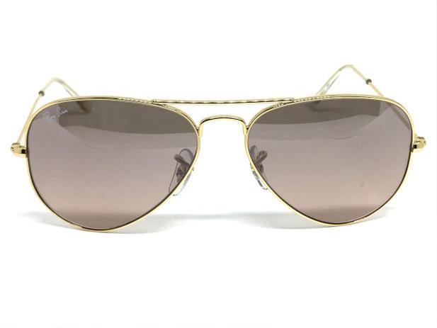 8f25ab5eb60a4 Oculos de sol Ray Ban Aviador pequeno RB 3025L 001 3E 55 - Óculos de ...