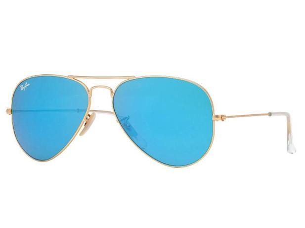 3ee04a0608cef Óculos De Sol Ray Ban Aviador RB3025 112 17 Tam.58 - Ray ban original