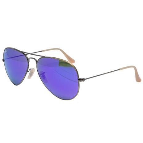 115721410f509 Óculos de Sol Ray Ban Aviador RB3025 167 1M - metal bronze