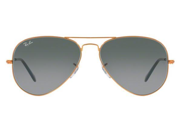 1deace1b34f1e Óculos de Sol Ray Ban Aviador RB3025 19771 Bronze Lente Cinza Degradé Tam  58 - Ray-ban