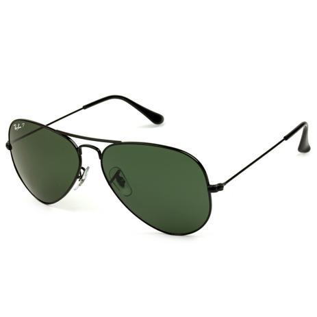 Óculos de Sol Ray-Ban Aviador RB3025L 002 58 62 Polarizado - Óculos ... 7af343514e