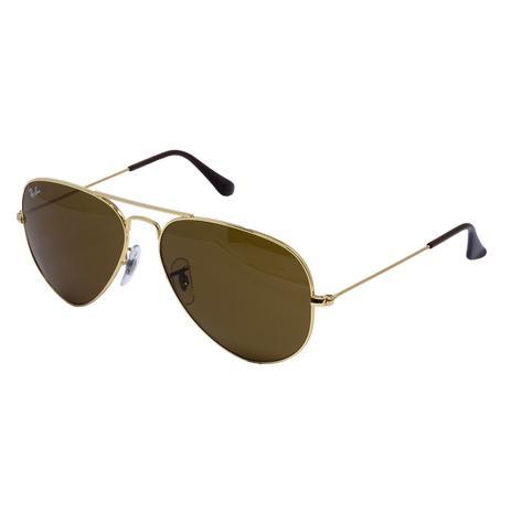 bc98fe446f3d6 Óculos de Sol Ray Ban Aviador RB3025L C001 33 - metal dourado