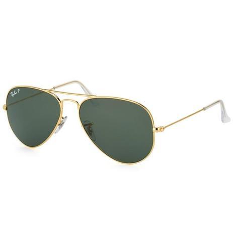 Óculos de Sol Ray Ban Aviator Large Metal RB3025L 001 58 3P - Óculos ... 8c4e013587