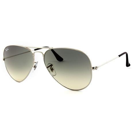 78a5e1557 Óculos De Sol Ray Ban Aviator Rb3025 Cinza - - - Magazine Luiza