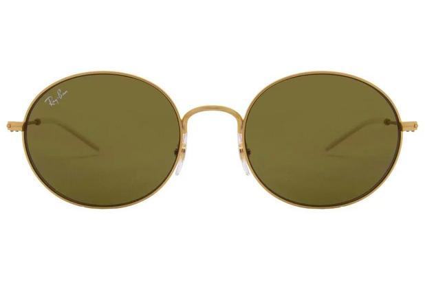 d874fef06 Óculos de Sol Ray Ban Beat RB3594 901373/53 Dourado Emborrachado ...