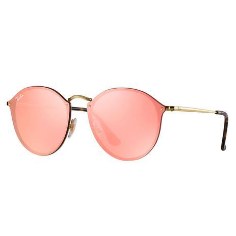Óculos de Sol Ray-Ban Blaze Round RB3574N 001 E4 - Óculos de Sol ... f2e5519087