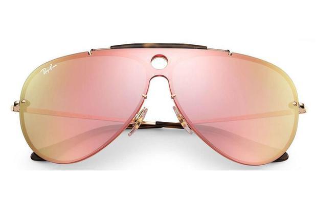 d03792941 Óculos de Sol Ray Ban Blaze Shooter RB3581N 001/E4/32 Dourado ...