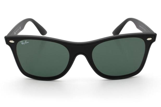 b3253c420 Óculos de Sol Ray Ban Blaze Wayfarer RB4440N 601S71/41 Preto Fosco ...