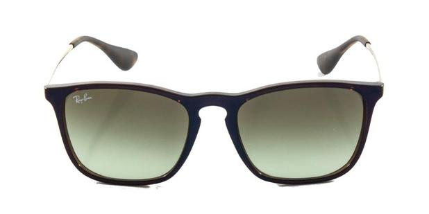 Óculos De Sol Ray Ban Chris RB4187 Marrom Lente Marrom Degradê ... 77c2ca1385