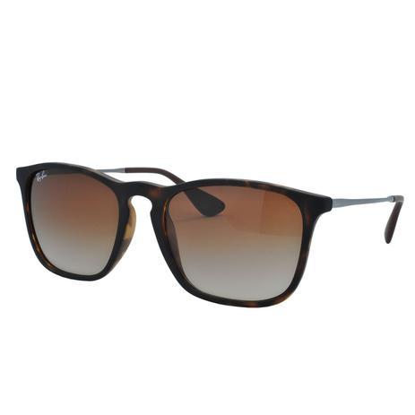 6513a7e80 Óculos de Sol Ray Ban Chris Unissex RB4187L C856/13 - Acetato Tartaruga  Marrom