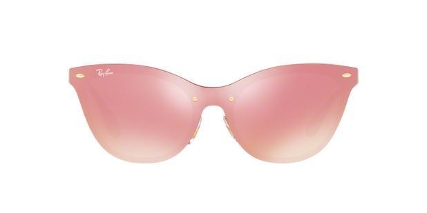Óculos de Sol Ray Ban Clubmaster Blaze RB3580 Ouro Lente Rosa Espelhada -  Ray-ban a514029ddb