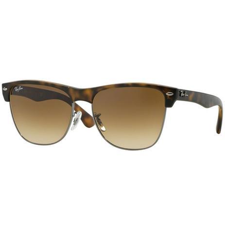 Óculos de sol Ray Ban Clubmaster Oversized RB4175 878 51 Tam.57 - Ray ban  original 3d819973fd
