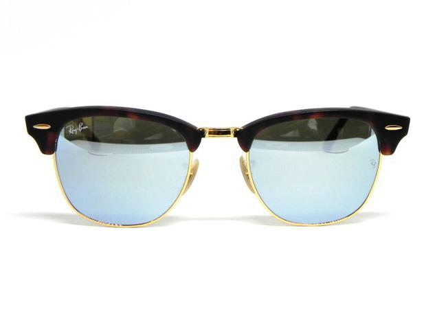 ffa55c53d50ff Oculos de sol Ray Ban Clubmaster RB 3016 1145 30 51 - Óculos de Sol ...