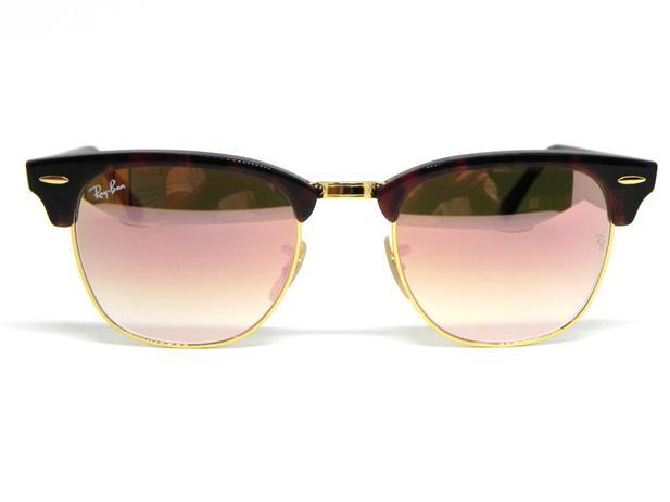 Oculos de sol Ray Ban Clubmaster RB 3016 990 70 51 - Óculos de Sol ... 12f6e08877