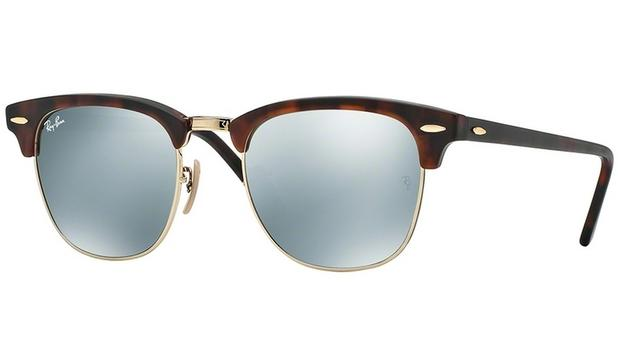 55ab0d058 Óculos De Sol Ray Ban Clubmaster RB3016 1145 30 Tam.51 - Ray ban original