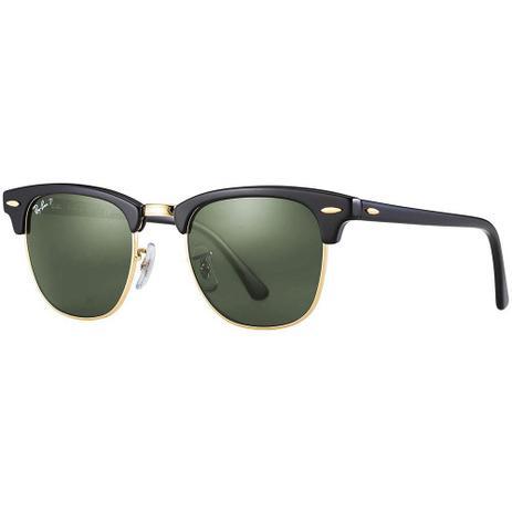 70139bea5 Óculos de Sol Ray-Ban Clubmaster RB3016 901/58 51 Polarizado ...