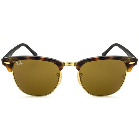 7325b3532b Óculos de Sol Ray Ban Clubmaster RB3016 Tartaruga - Ray-ban ...