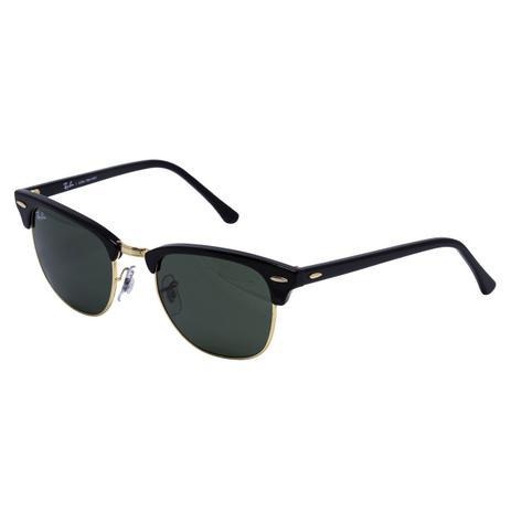 7552aaad5 Menor preço em Óculos de Sol Ray Ban Clubmaster RB3016L CW0365 - metal  dourado/acetato